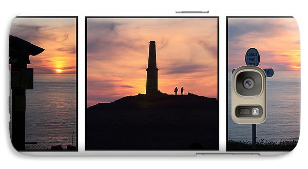 Galaxy Case featuring the photograph Cornish Sunsets by Terri Waters