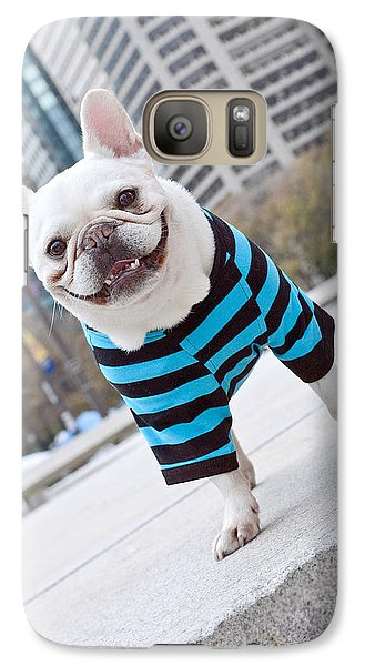 Galaxy Case featuring the photograph Cornnut by Lisa Phillips