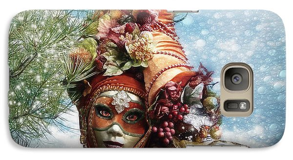 Galaxy Case featuring the photograph Cornucopia by Barbara Orenya