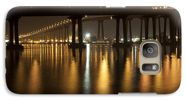 Coronado Bridge At Night Galaxy S7 Case by Nathan Rupert