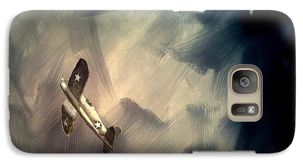 Galaxy Case featuring the painting Corsair Sketch 2 by Stephen Roberson