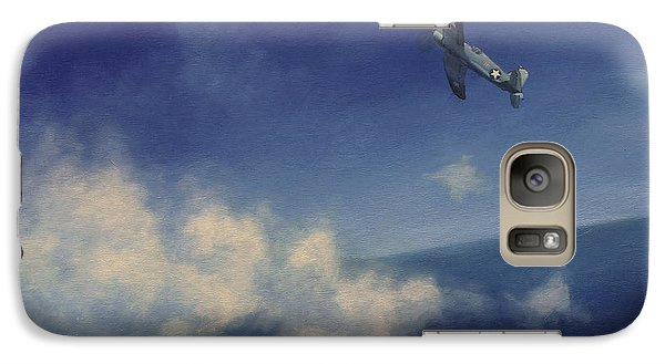Galaxy Case featuring the painting Corsair by Stephen Roberson