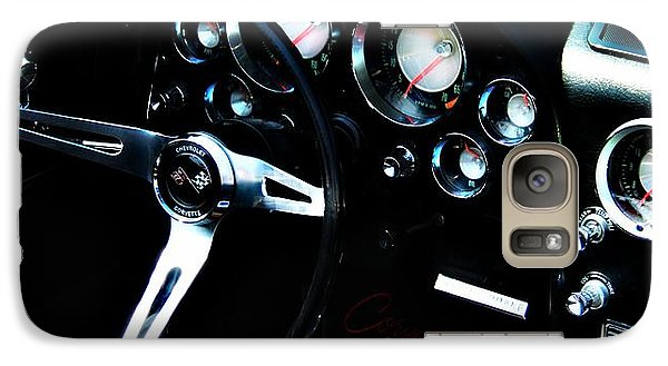 Vintage Car Galaxy Case featuring the photograph Corvette Stingray by Aaron Berg