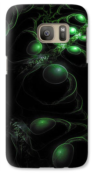 Cosmic Alien Eyes Original Galaxy S7 Case