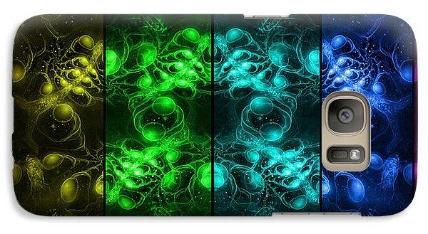 Cosmic Alien Eyes Pride Galaxy S7 Case