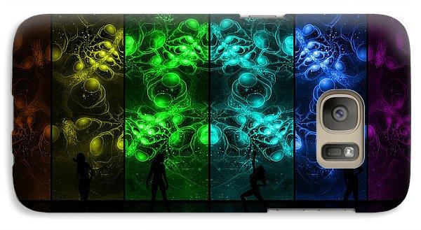 Cosmic Alien Vixens Pride Galaxy S7 Case