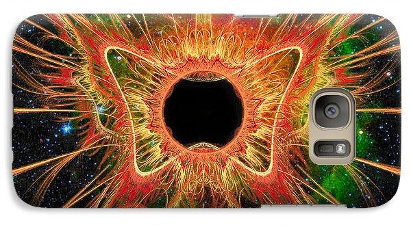 Cosmic Butterfly Phoenix Galaxy S7 Case