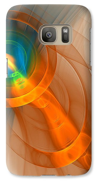 Galaxy Case featuring the digital art Cosmic Candle by Victoria Harrington