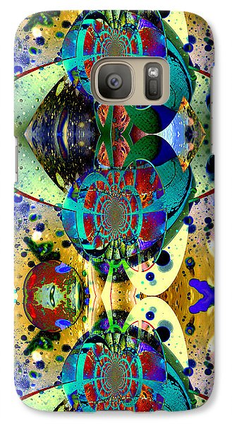 Galaxy Case featuring the photograph Cosmic Cuckoo Clock by Robert Kernodle