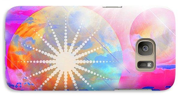 Galaxy Case featuring the digital art Cosmic Delight by Ute Posegga-Rudel