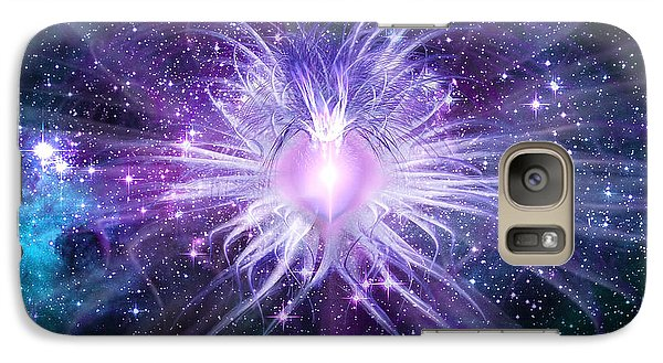 Cosmic Heart Of The Universe Galaxy S7 Case