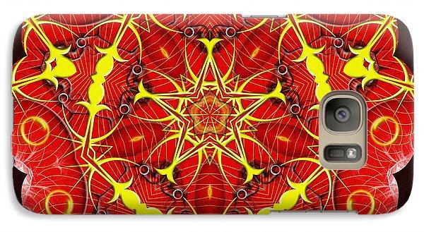 Cosmic Masculine Firestar Galaxy S7 Case