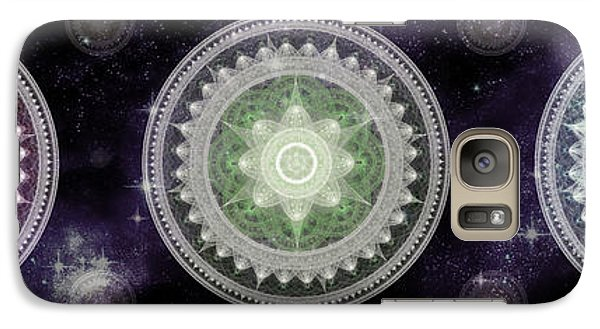 Cosmic Medallians Rgb 2 Galaxy S7 Case