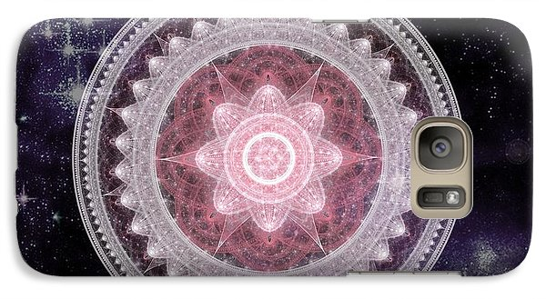 Cosmic Medallions Fire Galaxy S7 Case