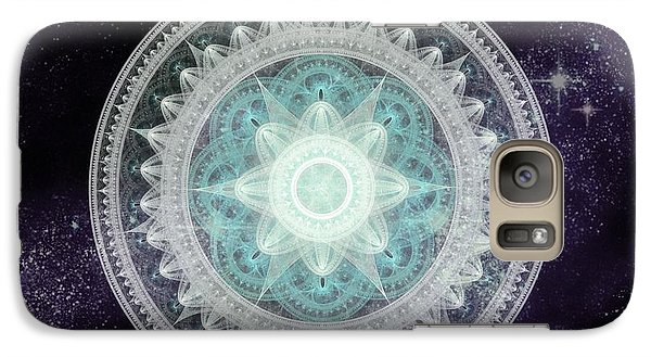 Cosmic Medallions Water Galaxy S7 Case