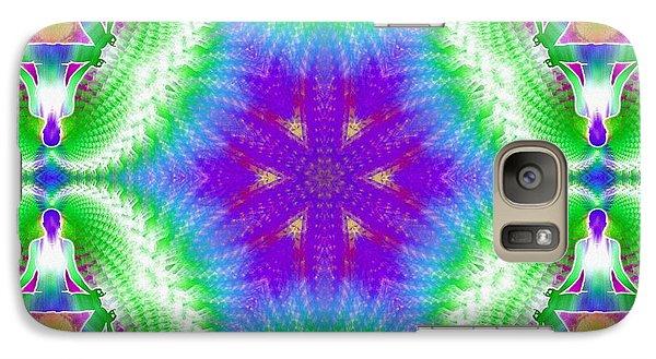 Cosmic Spiral Kaleidoscope 10 Galaxy S7 Case