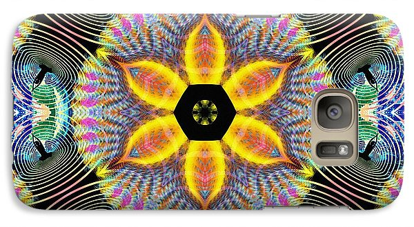Cosmic Spiral Kaleidoscope 13 Galaxy S7 Case