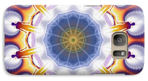 Cosmic Spiral Kaleidoscope 34 Galaxy S7 Case