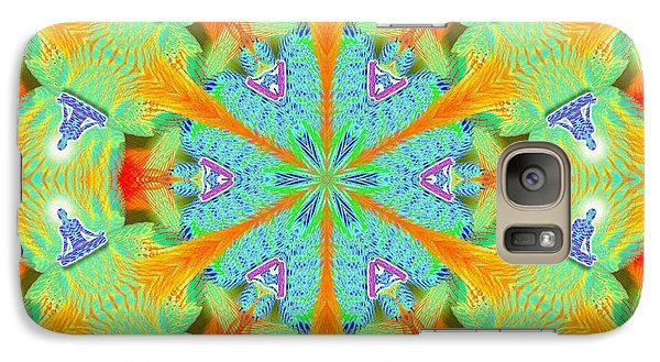 Cosmic Spiral Kaleidoscope 41 Galaxy S7 Case