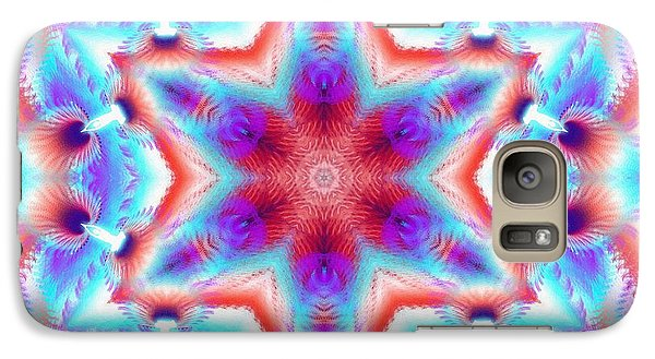 Cosmic Spiral Kaleidoscope 45 Galaxy S7 Case