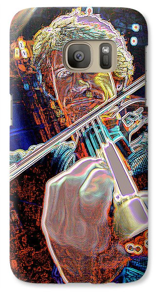 Galaxy Case featuring the photograph Cosmic Violin by Don Olea