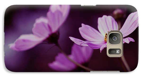 Galaxy Case featuring the photograph Cosmo After Glow by Kay Novy