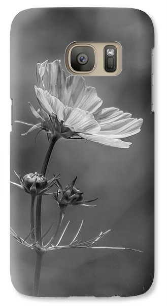 Galaxy Case featuring the photograph Cosmo Flower Reaching For The Sun by Debbie Green