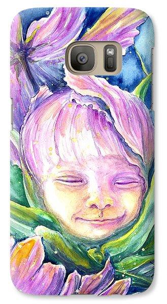 Cosmos Bud Galaxy S7 Case