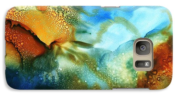 Galaxy Case featuring the painting Cosmos I by Yolanda Koh