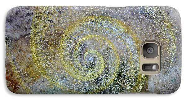 Galaxy Case featuring the painting Cosmos by Suzette Kallen