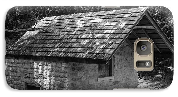 Galaxy Case featuring the photograph Cottage By The Stream At The Hermitage by Robert Hebert
