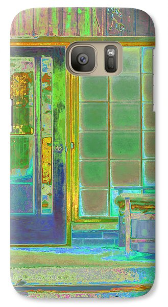 Cottage Porch Galaxy S7 Case