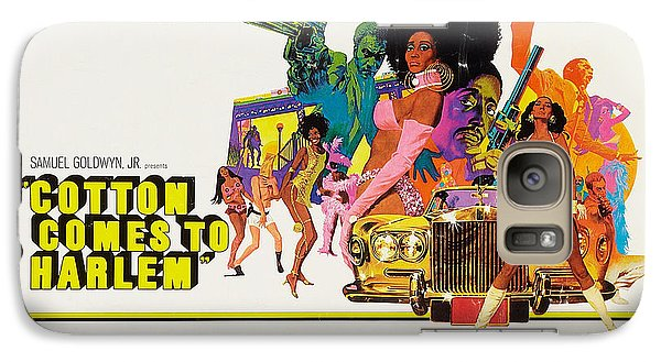 Cotton Comes To Harlem Poster Galaxy Case by Gianfranco Weiss