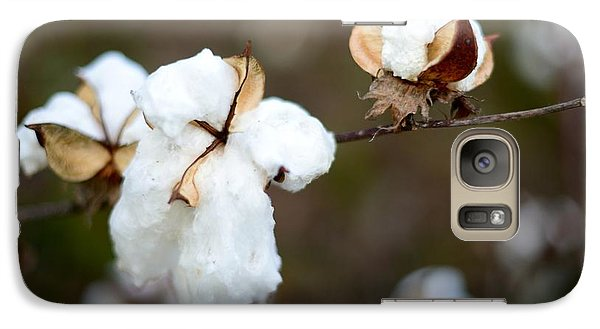 Galaxy Case featuring the photograph Cotton Creations by Linda Mishler