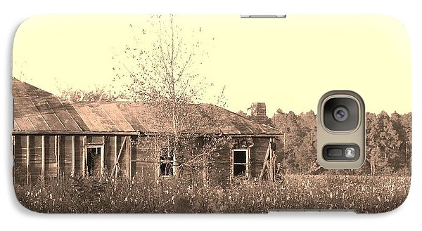 Galaxy Case featuring the photograph Cotton House by Cleaster Cotton