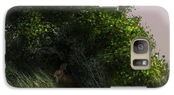 Galaxy Case featuring the digital art Cottontail by Aaron Blaise