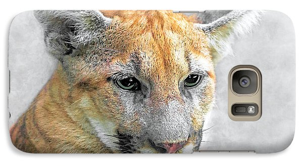 Galaxy Case featuring the photograph Cougar by Marion Johnson