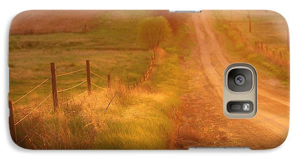 Galaxy Case featuring the photograph Counrty Sunshine by Shirley Heier