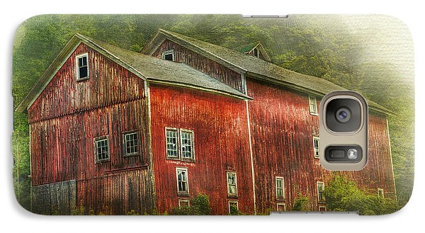 Galaxy Case featuring the photograph Country Barn by Kathleen Holley