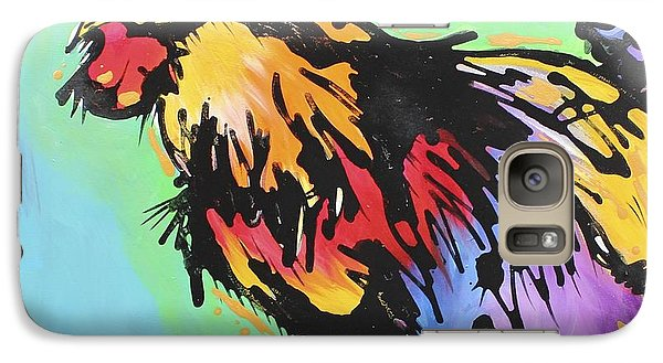 Galaxy Case featuring the painting Country Blues by Nicole Gaitan