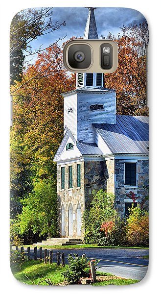 Galaxy Case featuring the photograph Country Church by Barbara Manis