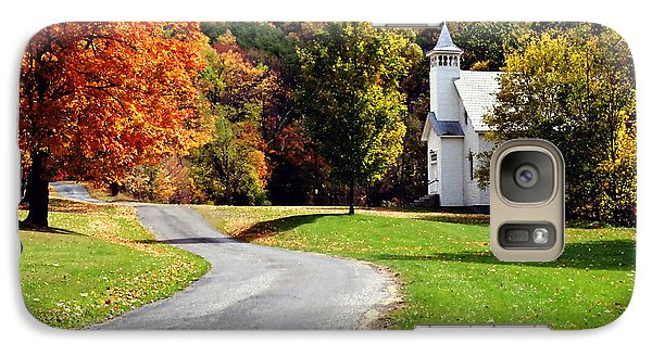 Galaxy Case featuring the photograph Country Church by Tom Brickhouse