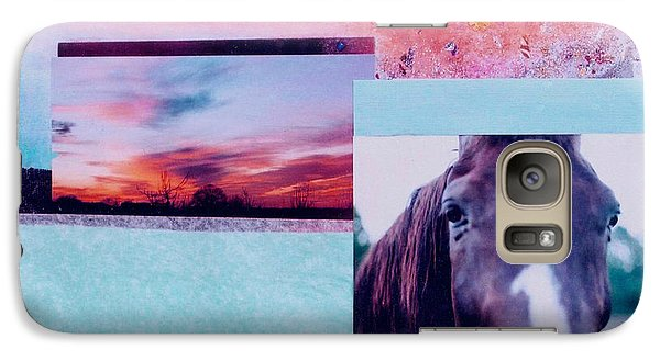 Galaxy Case featuring the photograph Country Collage 4 by Mary Ann  Leitch