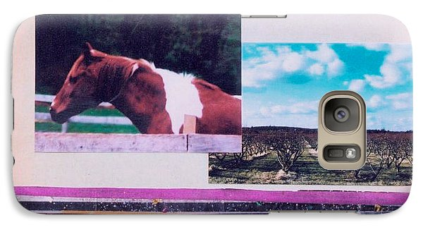 Galaxy Case featuring the photograph Country Collage 5 by Mary Ann  Leitch