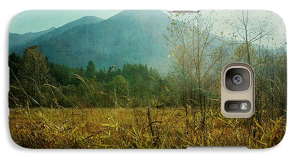 Galaxy Case featuring the photograph Country Drive by Sylvia Cook