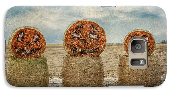 Galaxy Case featuring the photograph Country Halloween by Patti Deters