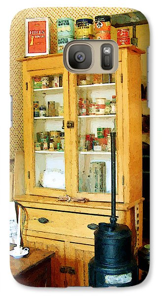 Galaxy Case featuring the painting Country Kitchen Sunshine IIi by RC deWinter