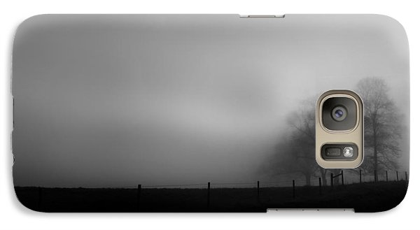Galaxy Case featuring the photograph Country Morning Vision Georgia by Sally Ross