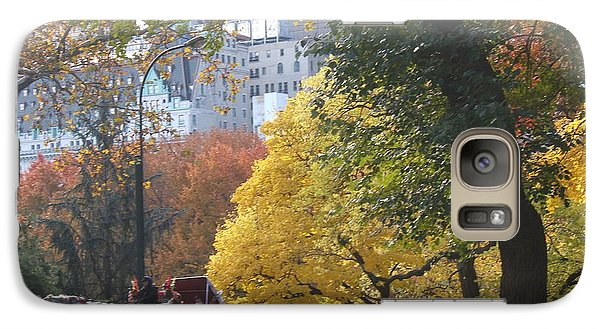 Galaxy Case featuring the photograph Country Ride In The City by Barbara McDevitt