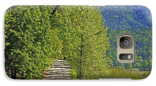 Galaxy Case featuring the photograph Country Road by Geraldine DeBoer